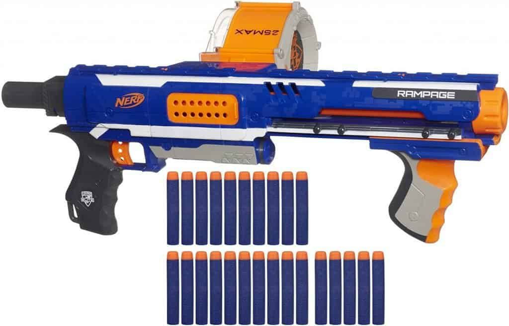 Best Nerf gun for teenagers: Nerf Rampage N-Strike Elite Toy Blaster
