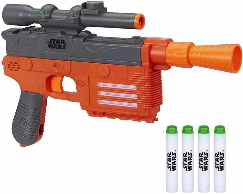 Best Nerf gun for parents: Star Wars Nerf Han Solo Blaster