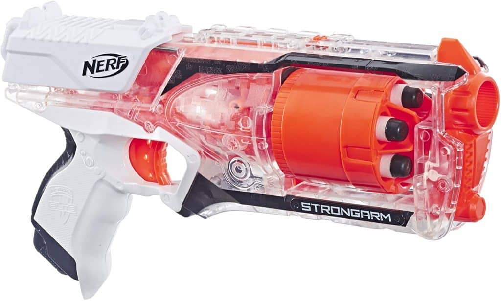 Best Nerf gun for the whole family: Strongarm Nerf N-Strike Elite Toy Blaster