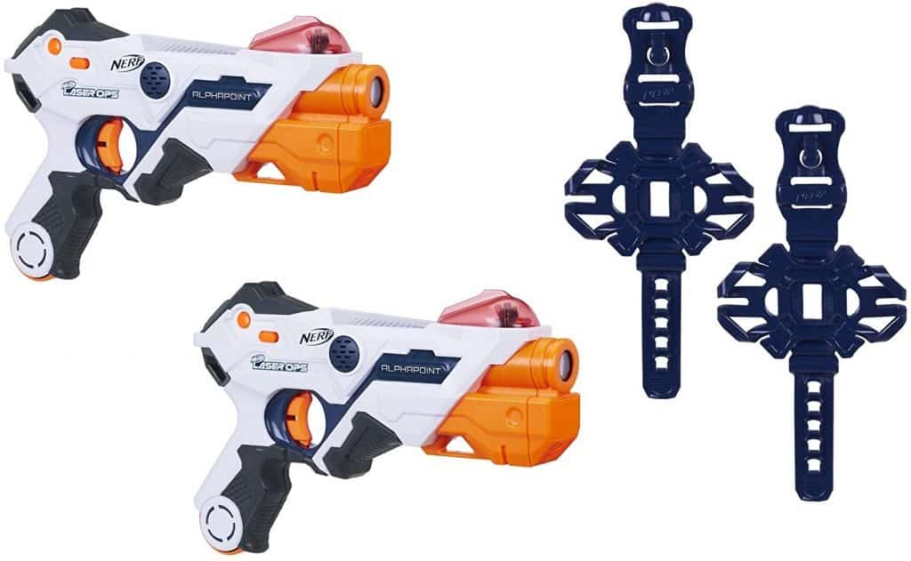 Best laser tag guns for teenagers: AlphaPoint Nerf Laser Ops Pro Toy Blasters