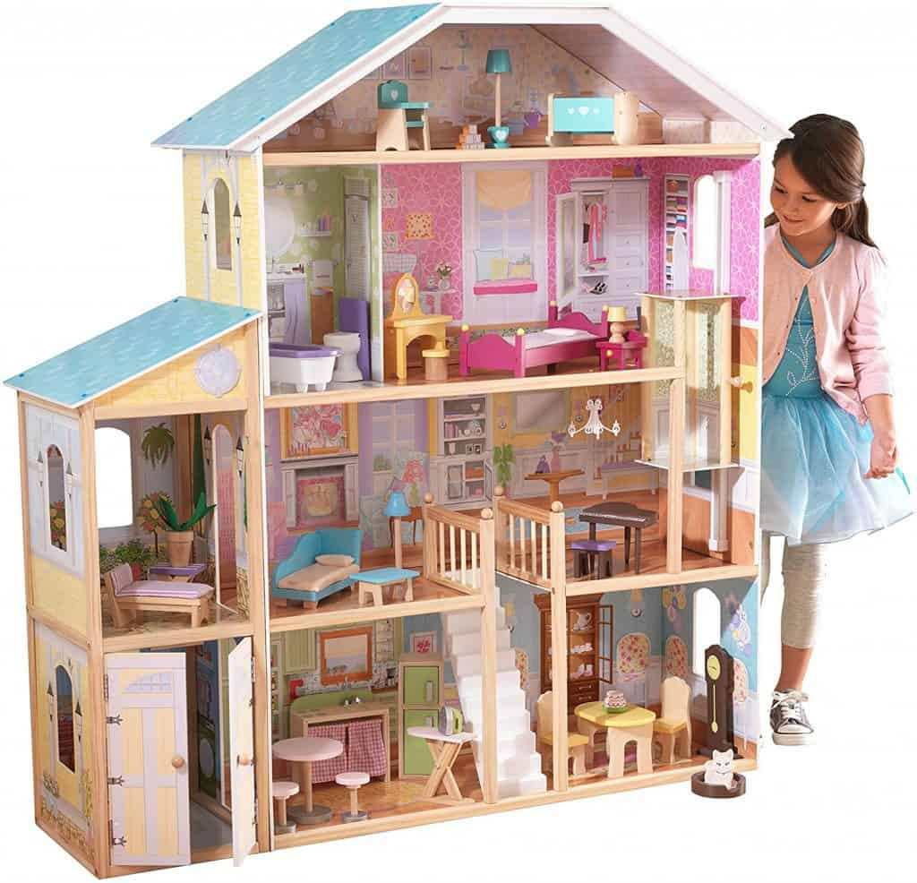 Best dollhouse overall: KidKraft Majestic Mansion Dollhouse