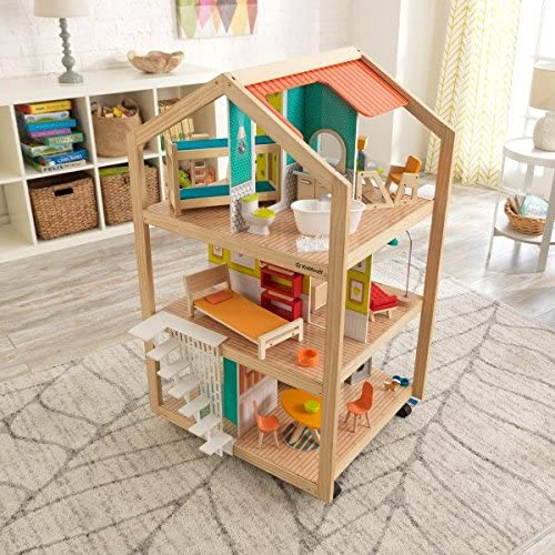 KidKraft So Stylish Mansion Wooden Dollhouse
