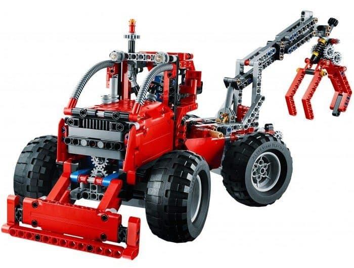 LEGO Technic 42029 Forest Skidder