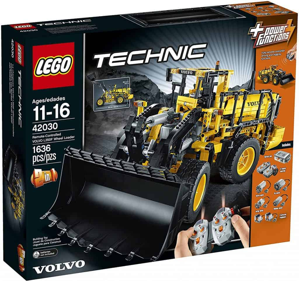 Best Complex LEGO Technic Set: LEGO Technic 42030 Remote Controlled Volvo L350F Wheel Load