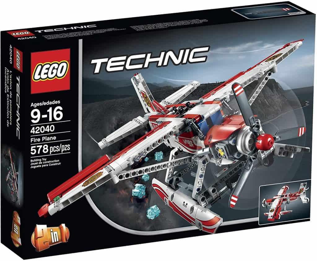 Best LEGO Technic Set for Intermediate Builders: LEGO Technic 42040 Fire Plane Building Kit