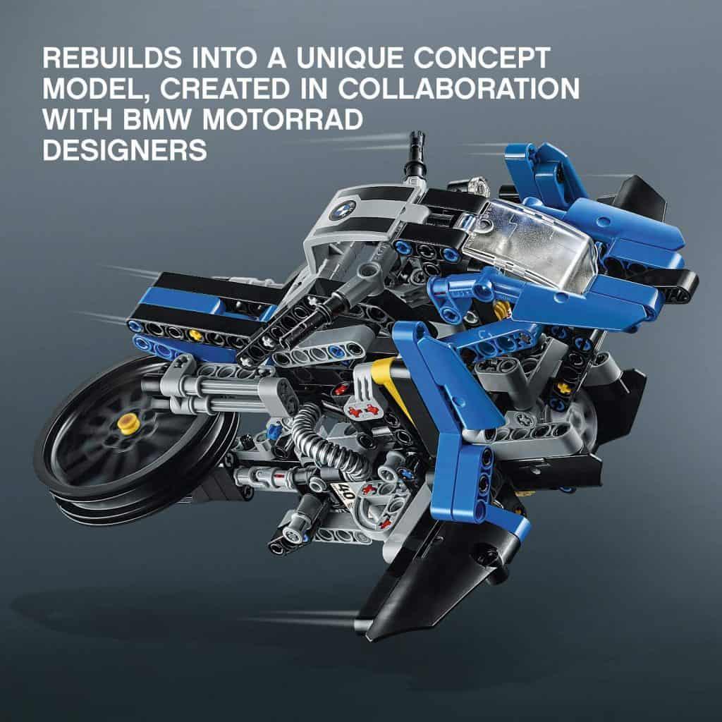 LEGO Technic BMW R 1200 GS Adventure 42063 alternative model