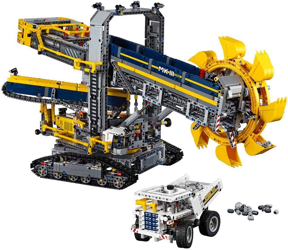 LEGO Technic Bucket Wheel Excavator 42055