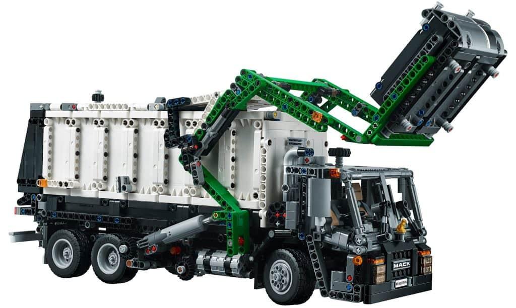 LEGO Technic Mack LR 42078 Garbage Truck