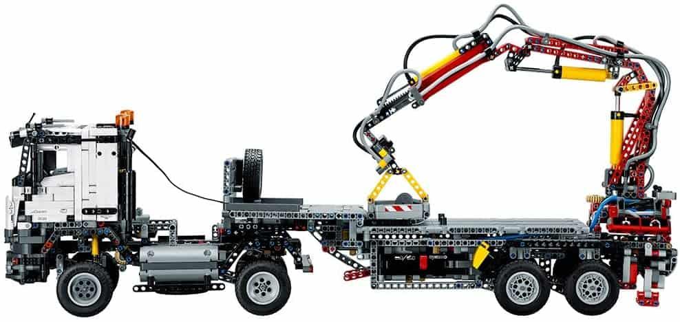 LEGO Technic Mercedes-Benz Articulated Construction Truck 42043