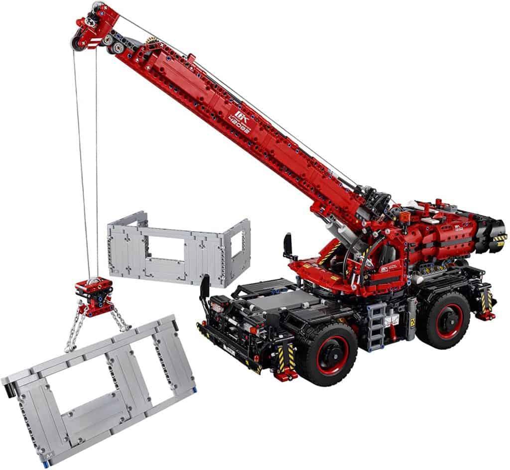LEGO Technic Rough Terrain Crane 42082 Building Kit