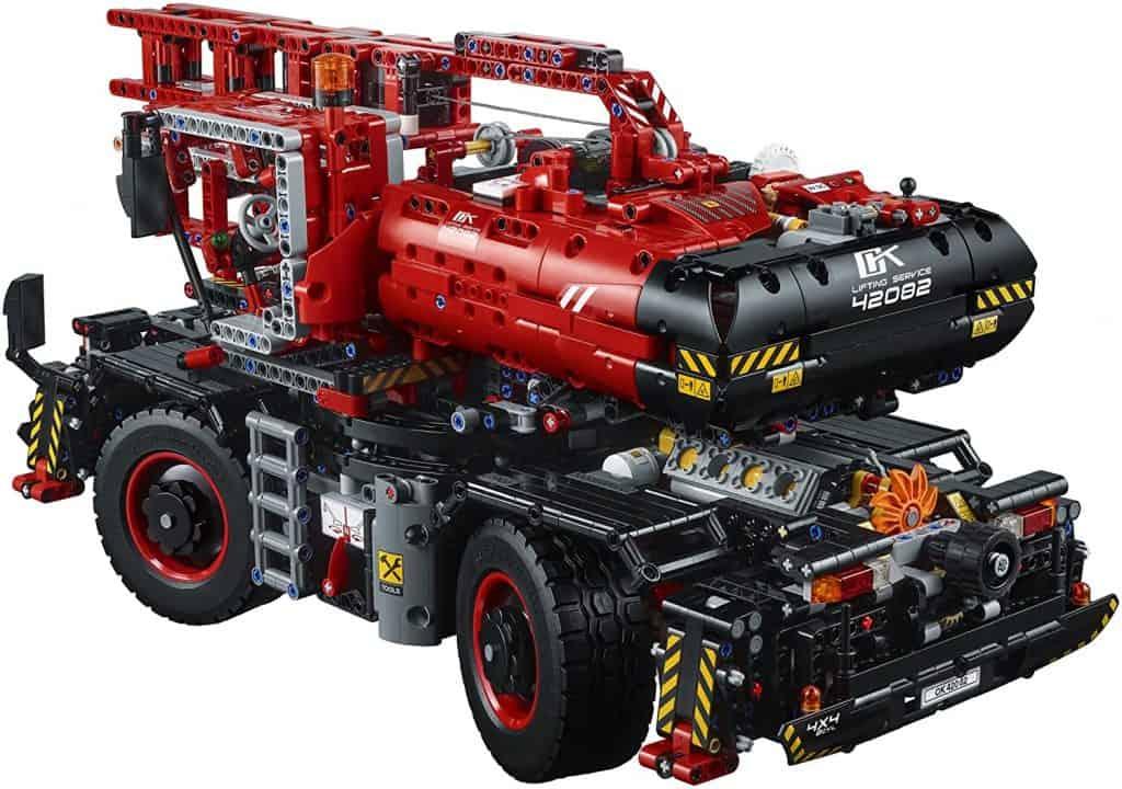 LEGO Technic 42082 Mobile Pile Driver