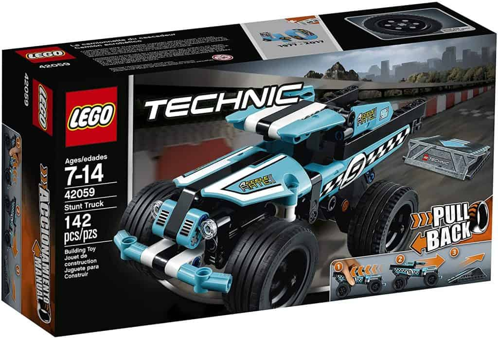 Best LEGO Technic Set for Beginners: LEGO Technic Stunt Truck 42059 Vehicle Set