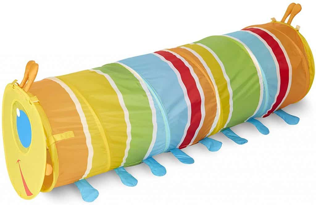 Best Toys for Crawling Babies: Melissa & Doug Giddy Buggy Crawl-Through Tunnel