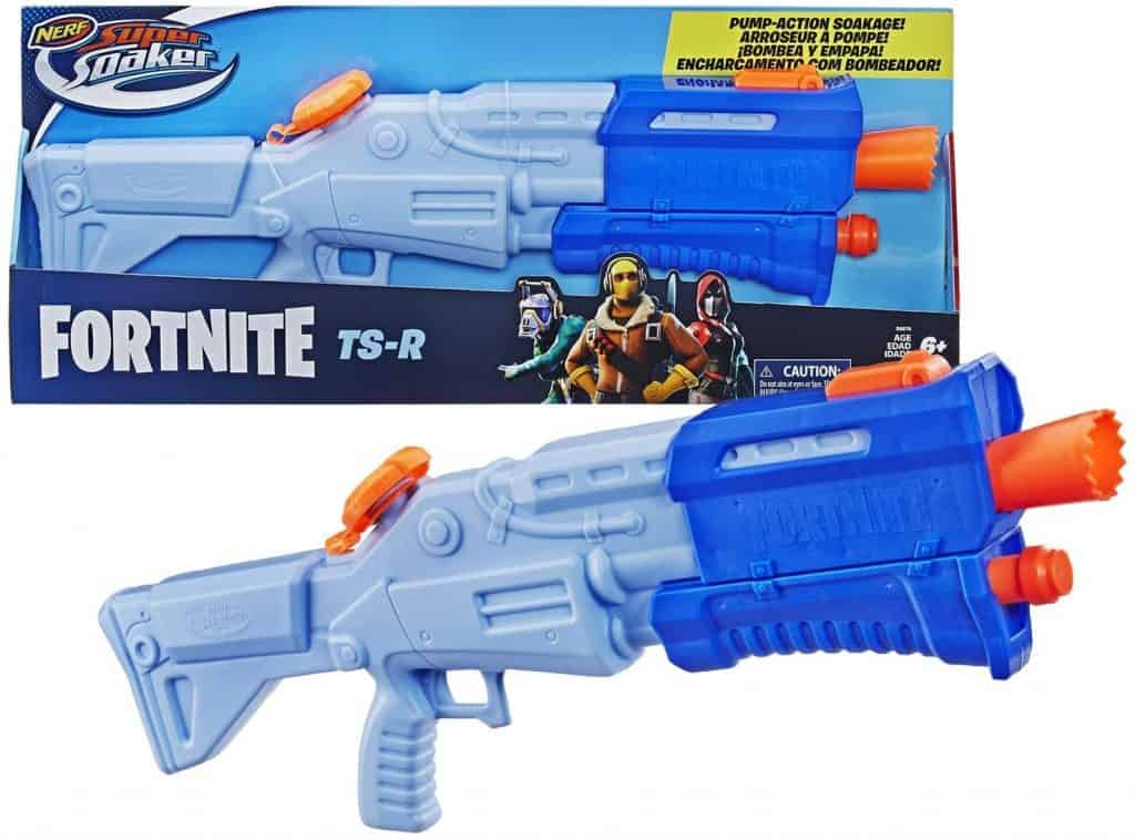 Best Outdoor Toys for 10-Year-Olds:  NERF Fortnite TS-R Super Soaker Water Blaster Toy