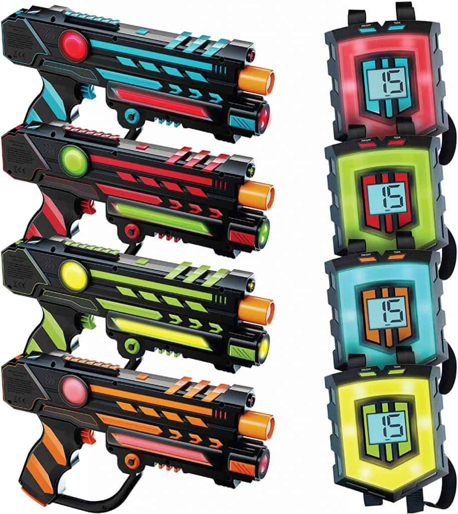 Best Laser Tag Guns for the whole family: Squad Hero Rechargeable Laser Tag Set