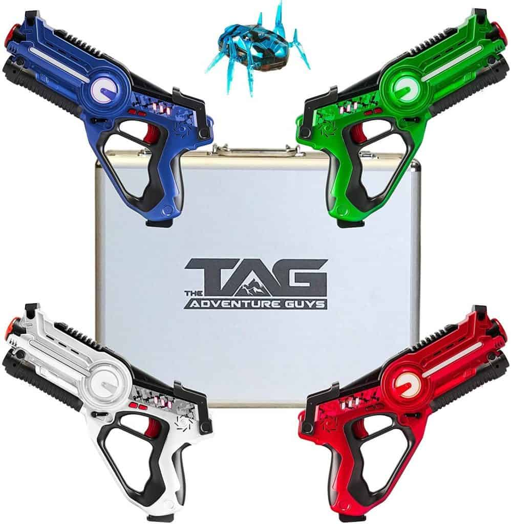 Best laser tag guns for older kids: The Adventure Guys Deluxe Lazer Tag Gun Set