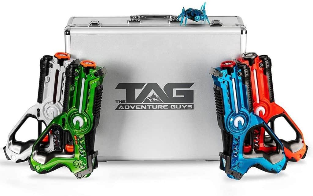 The Adventure Guys Deluxe Lazer Tag Gun Set