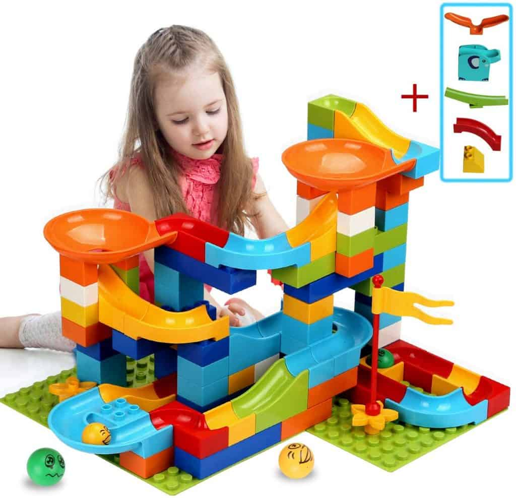 COUOMOXA Marble Run Building Blocks