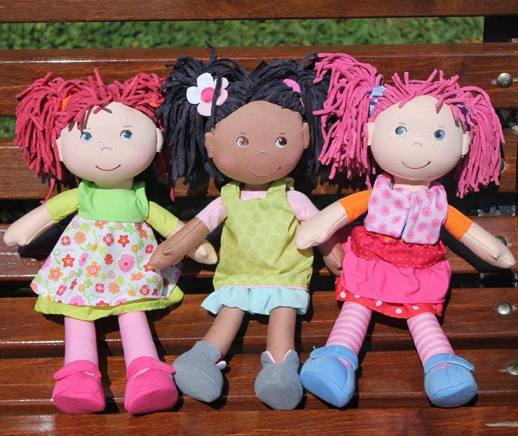 "HABA Cari 12"" African American Soft Doll"