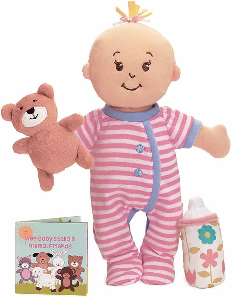 Best Doll for 1-Year-Olds: Manhattan Toy Wee Baby Stella Sleepy Time Scents Soft Doll Set