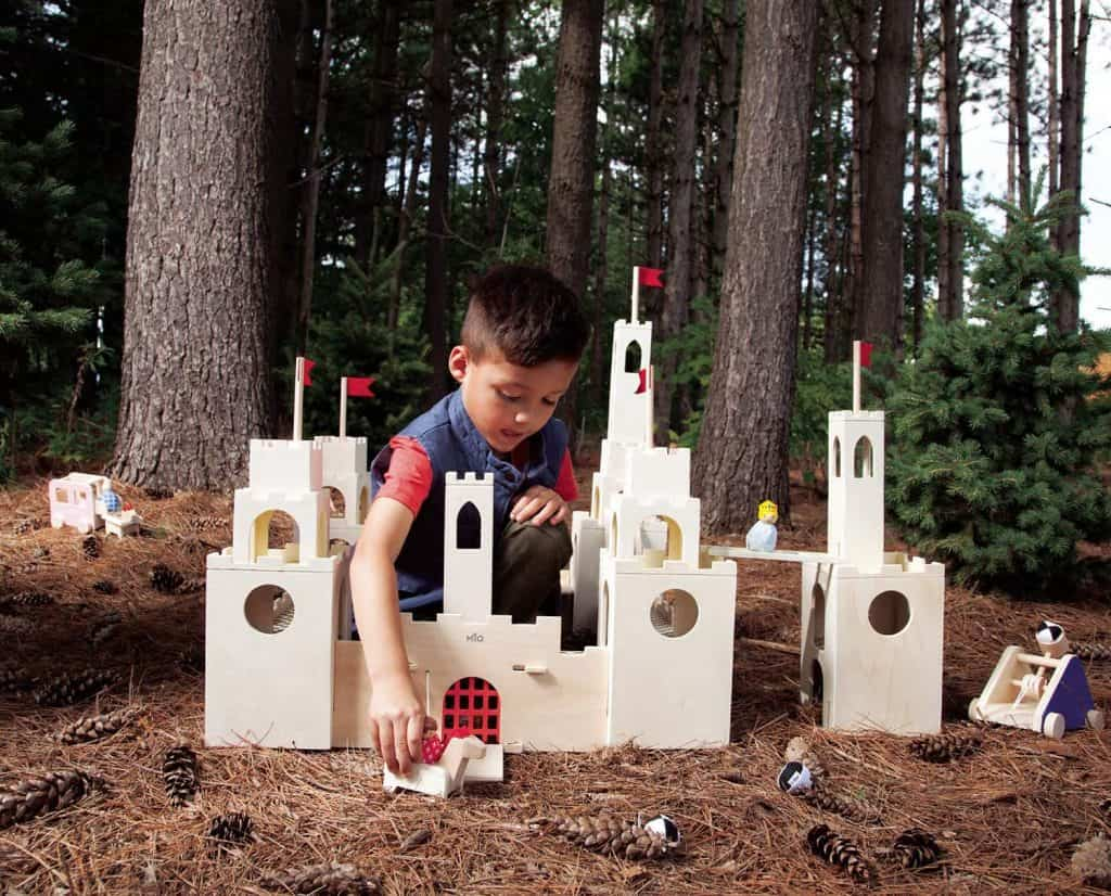 MiO Wooden Castle