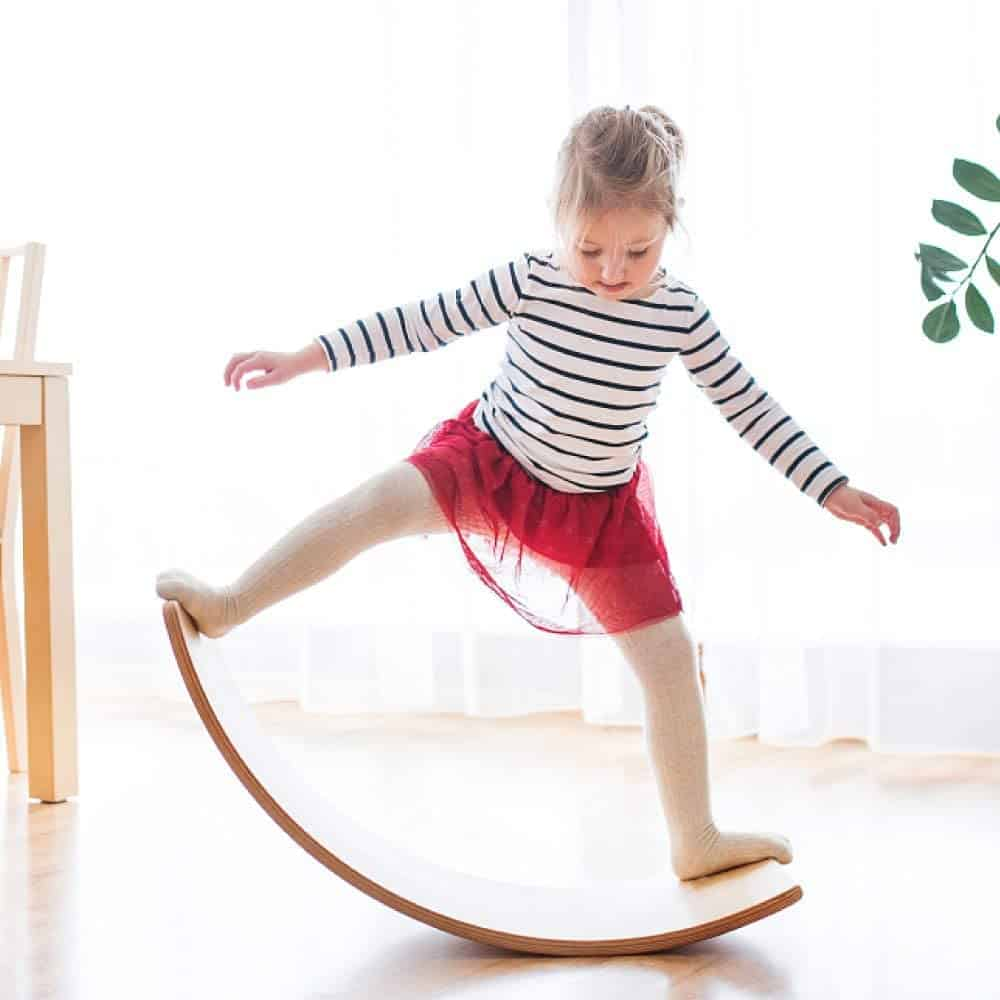 Best Toys for 4-Year-Olds: Wooden Wobble Balance Board