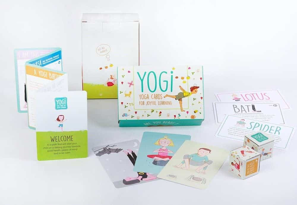 YOGI FUN Kids Yoga Cards Kit