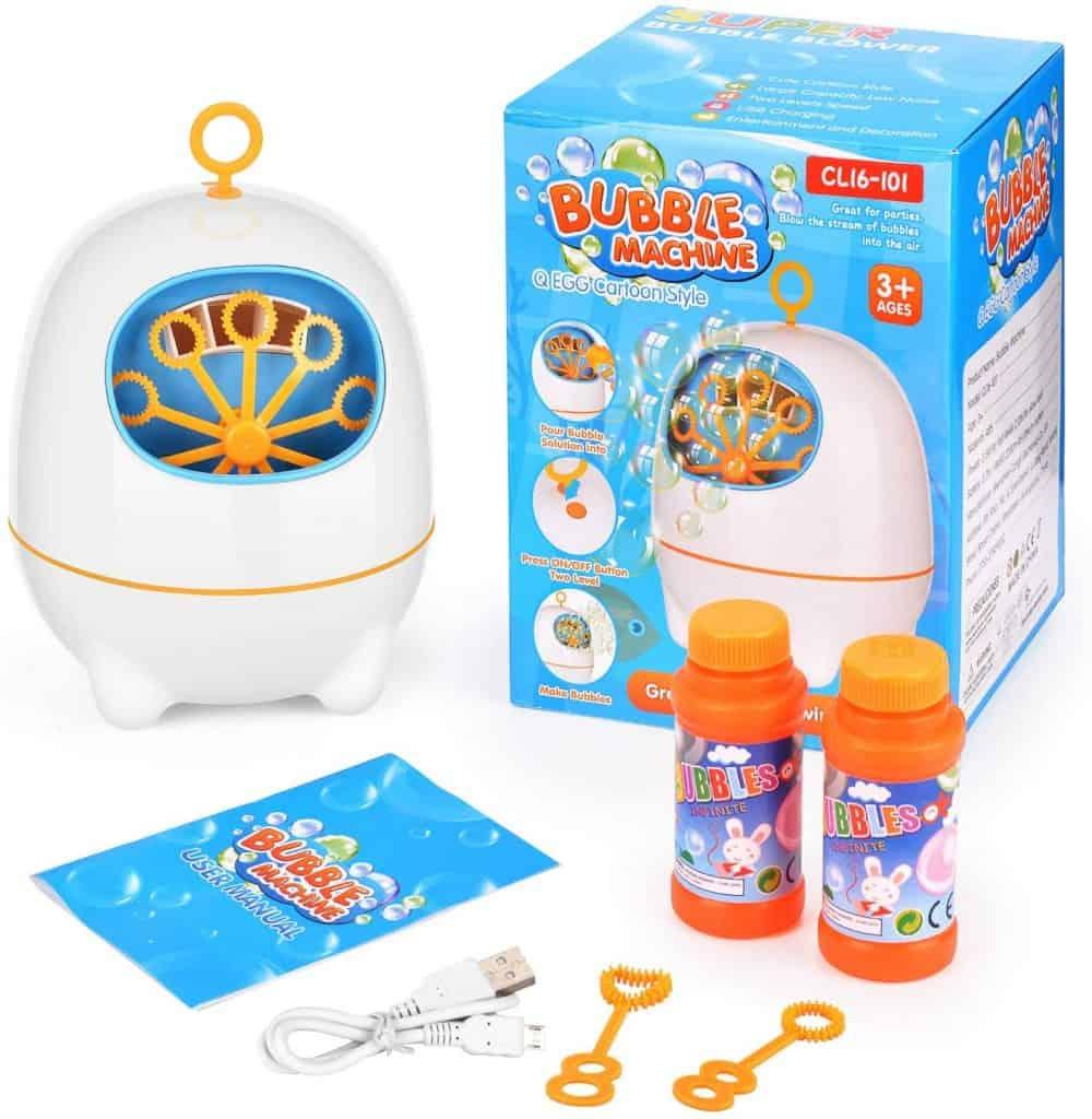 BATTOP Bubble Machine