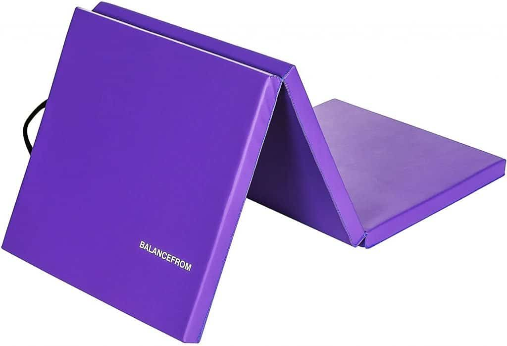 """BalanceFrom 2"""" Thick Tri-Fold Folding Exercise Mat"""