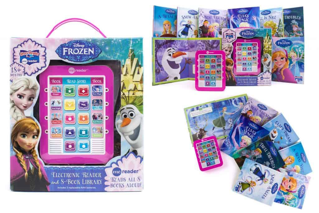 Disney - Frozen Me Reader Electronic Reader and 8-Sound Book Library