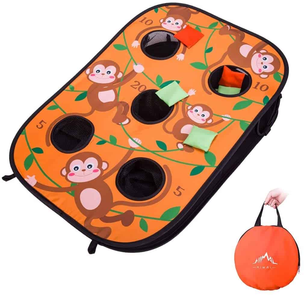 Himal Collapsible Portable 5 Holes Cornhole Game