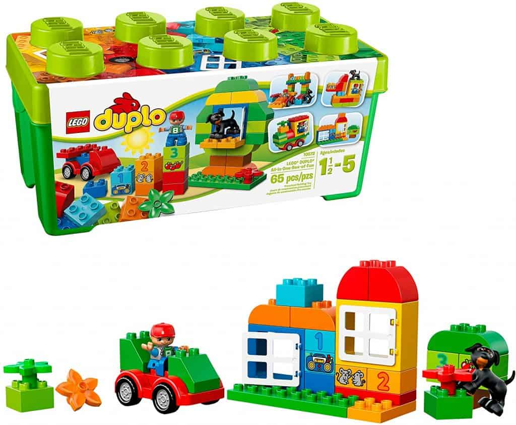 Best toys for 2-year-old girls: LEGO DUPLO All-in-One-Box-of-Fun Building Kit
