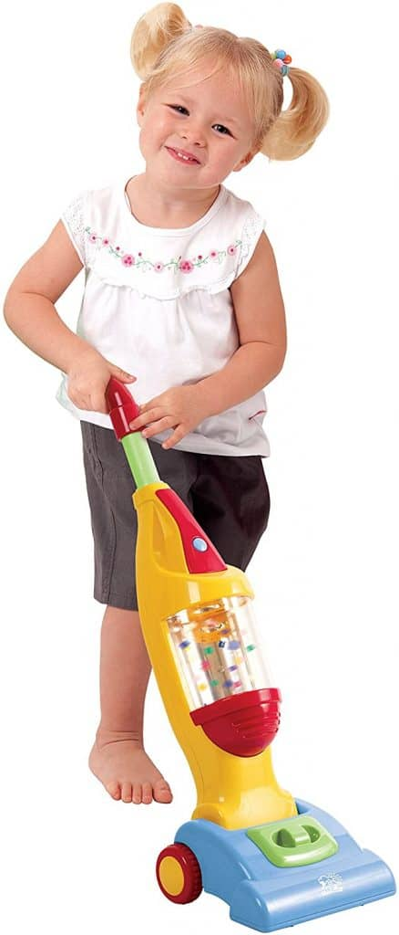 PlayGo Pretend Play My Light Up Playset Cleaning Vacuum