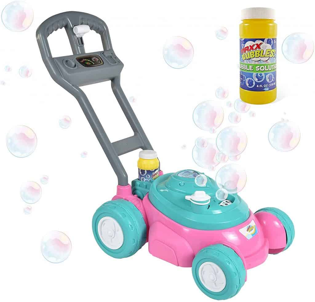 Sunny Days Entertainment Bubble-N-Go Toy Lawn Mower