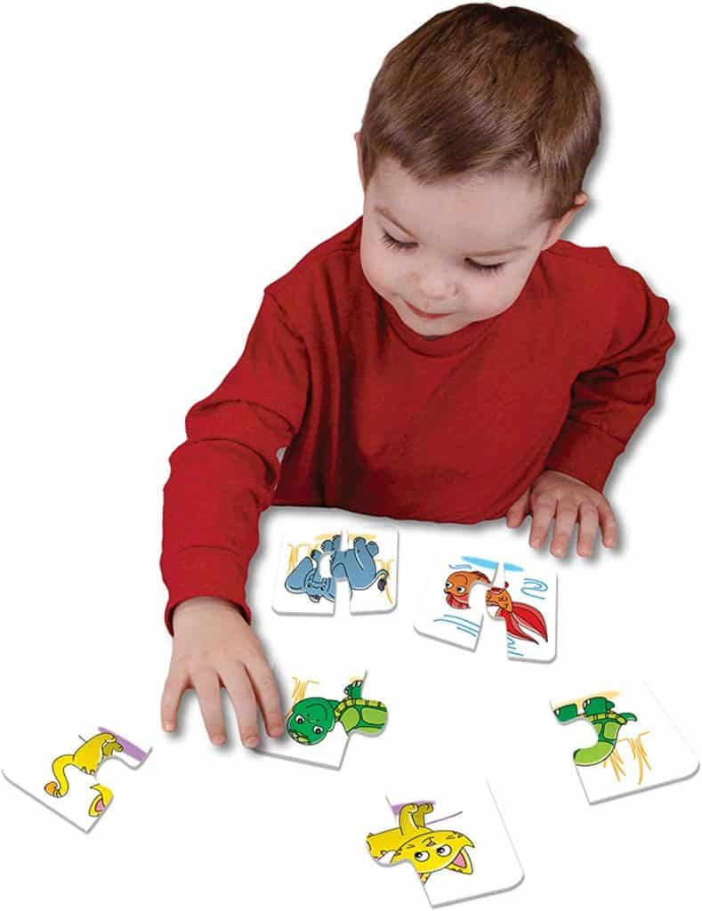 The Learning Journey: My First Match It - Head and Tails - 15 Self-Correcting Animal Matching Puzzles