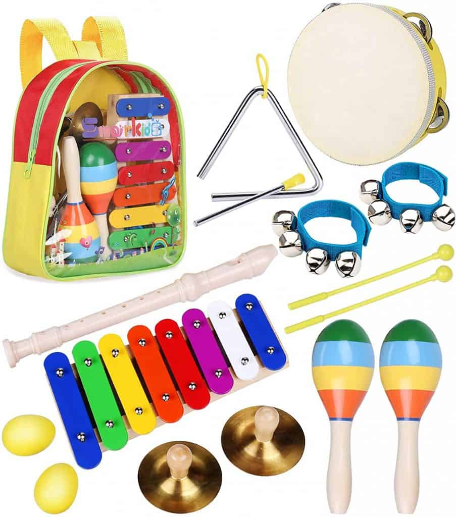 Toddler Musical Instruments Toys - Smarkids Percussion Instruments