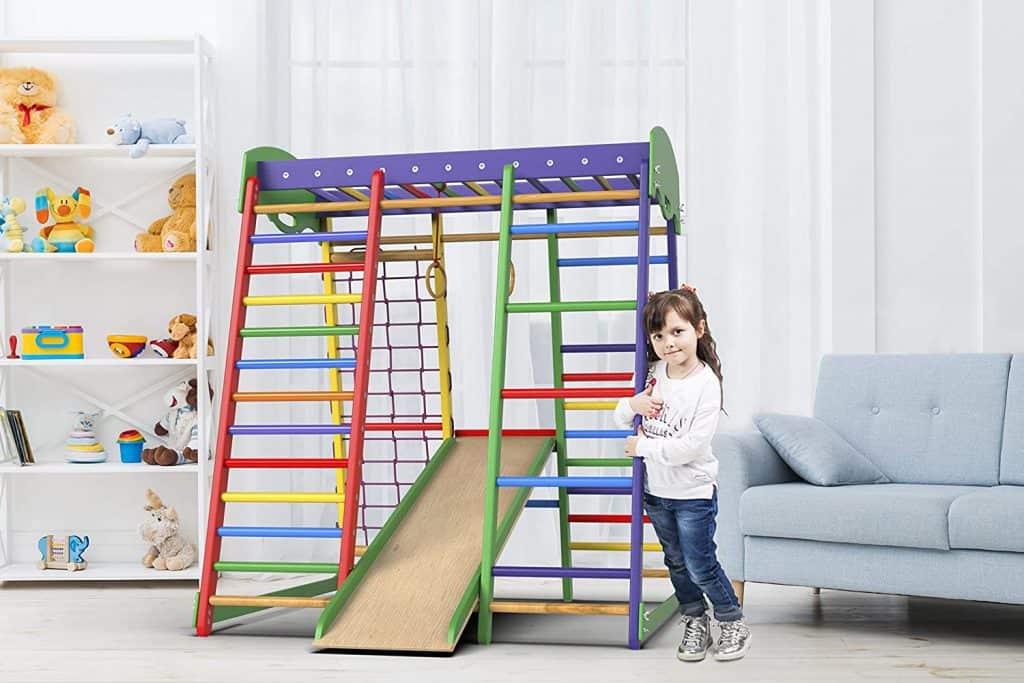 Wedanta Indoor Playground Toddler Climber Slide