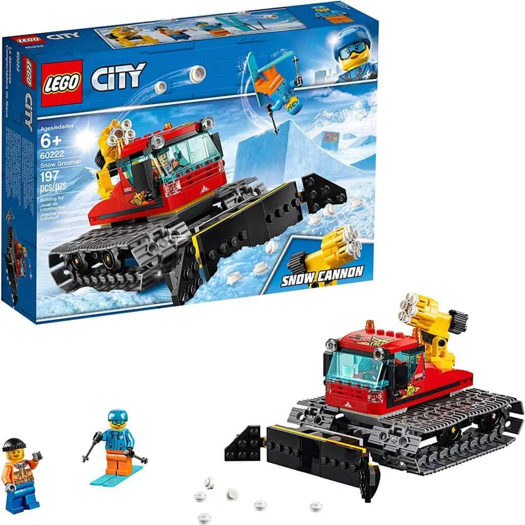 LEGO City Great Vehicles Snow Groomer 60222 Building Kit