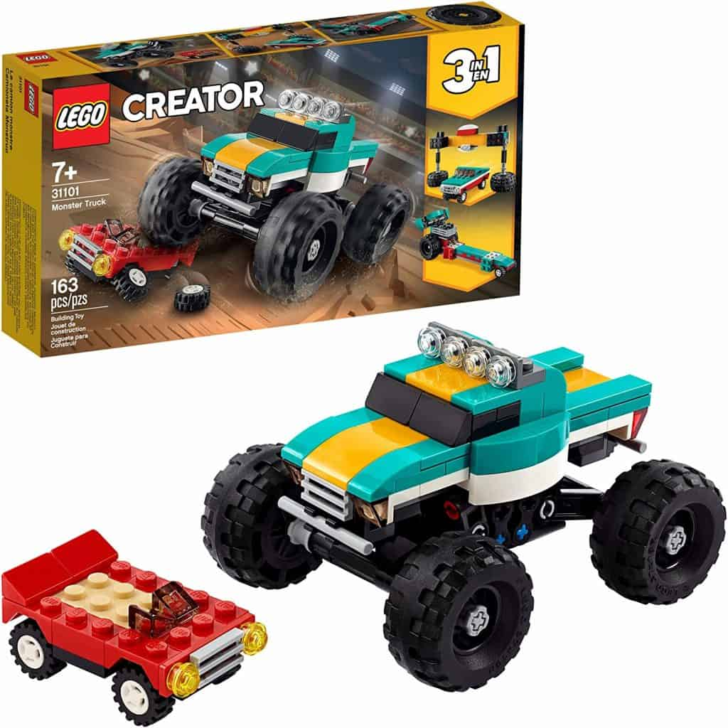 LEGO Creator 3in1 Monster Truck Toy 31101 Cool Building Kit