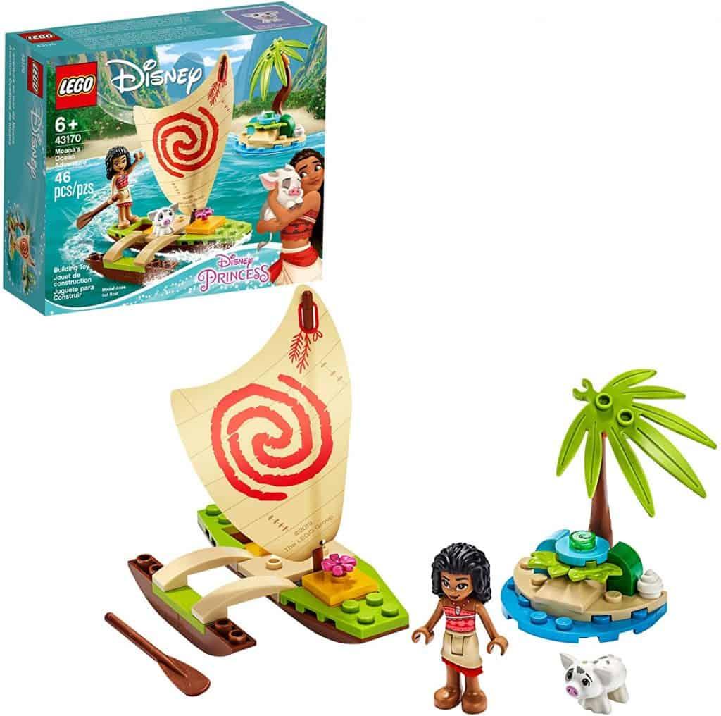 LEGO Disney Moana's Ocean Adventure 43170 Toy Building Kit
