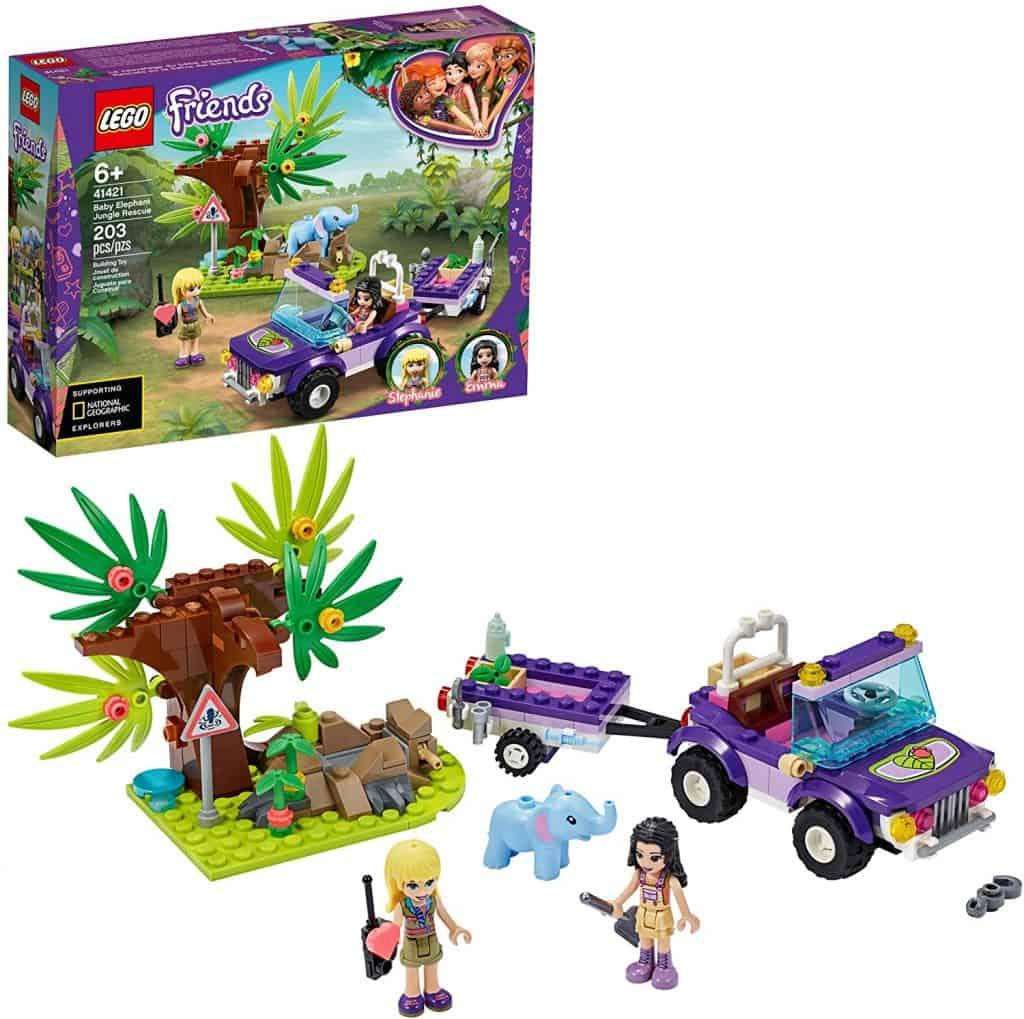 LEGO Friends Baby Elephant Jungle Rescue 41421 Adventure Building Kit