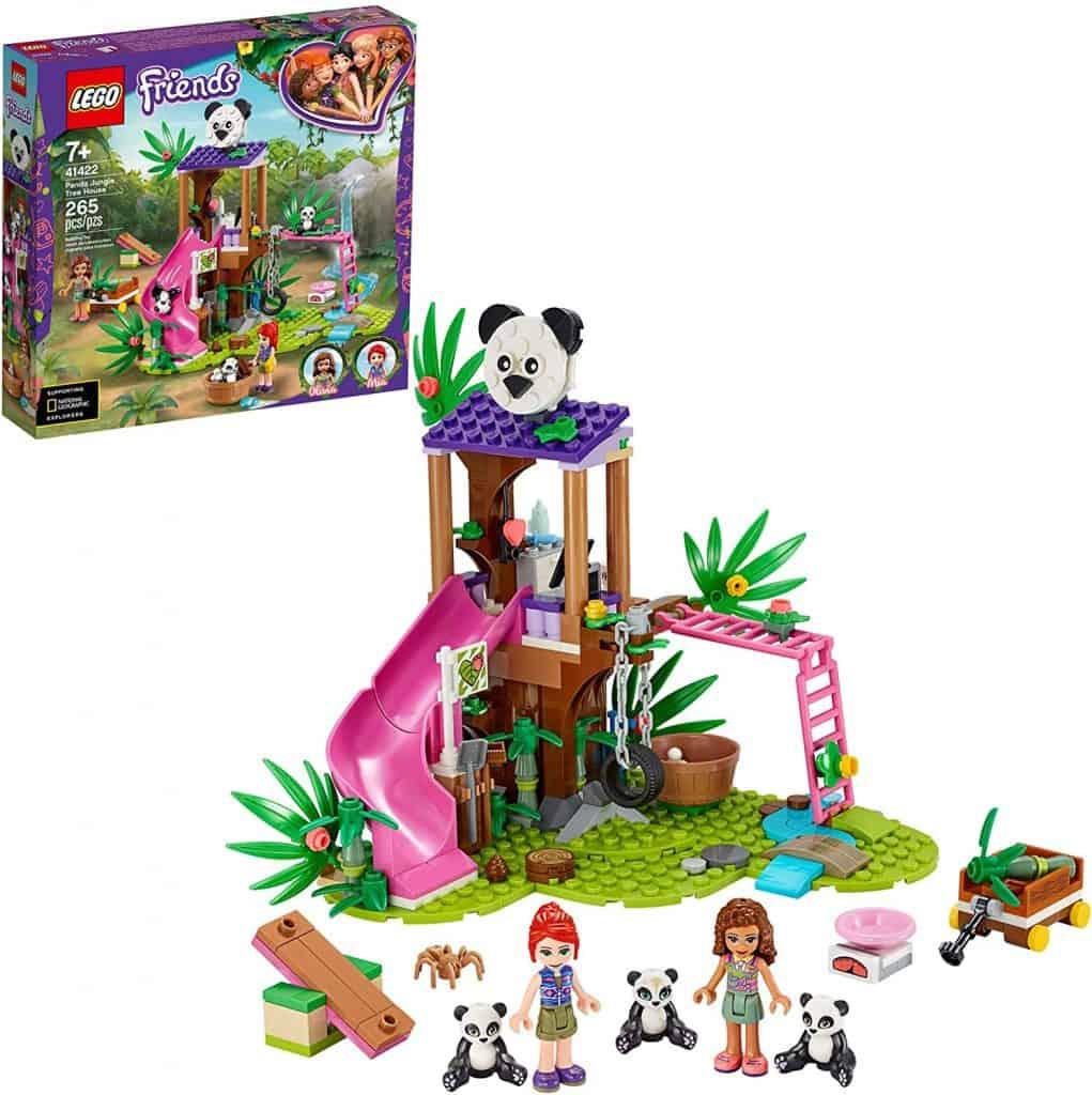 LEGO Friends Panda Jungle Tree House 41422 Building Toy
