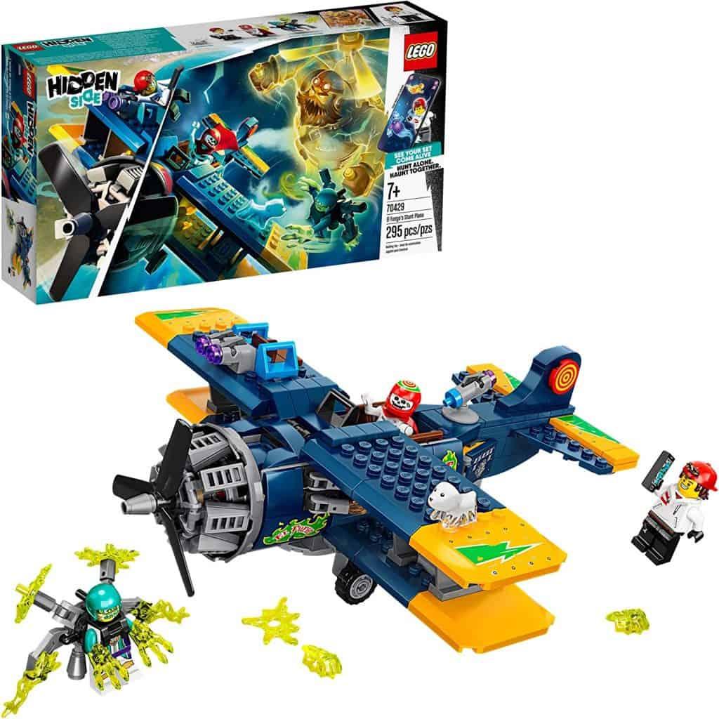 LEGO Hidden Side El Fuego's Stunt Plane 70429 Ghost Toy