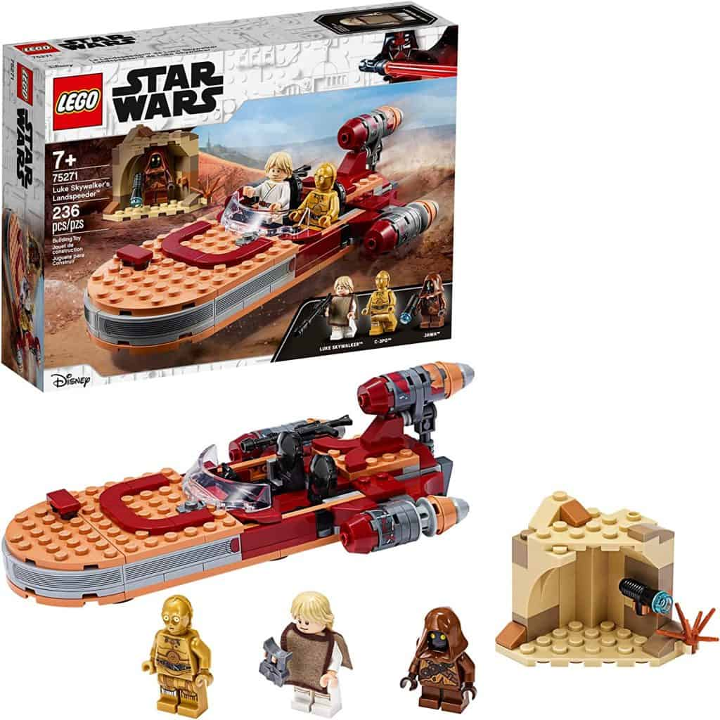 LEGO Star Wars: A New Hope Luke Skywalker's Landspeeder 75271 Building Kit