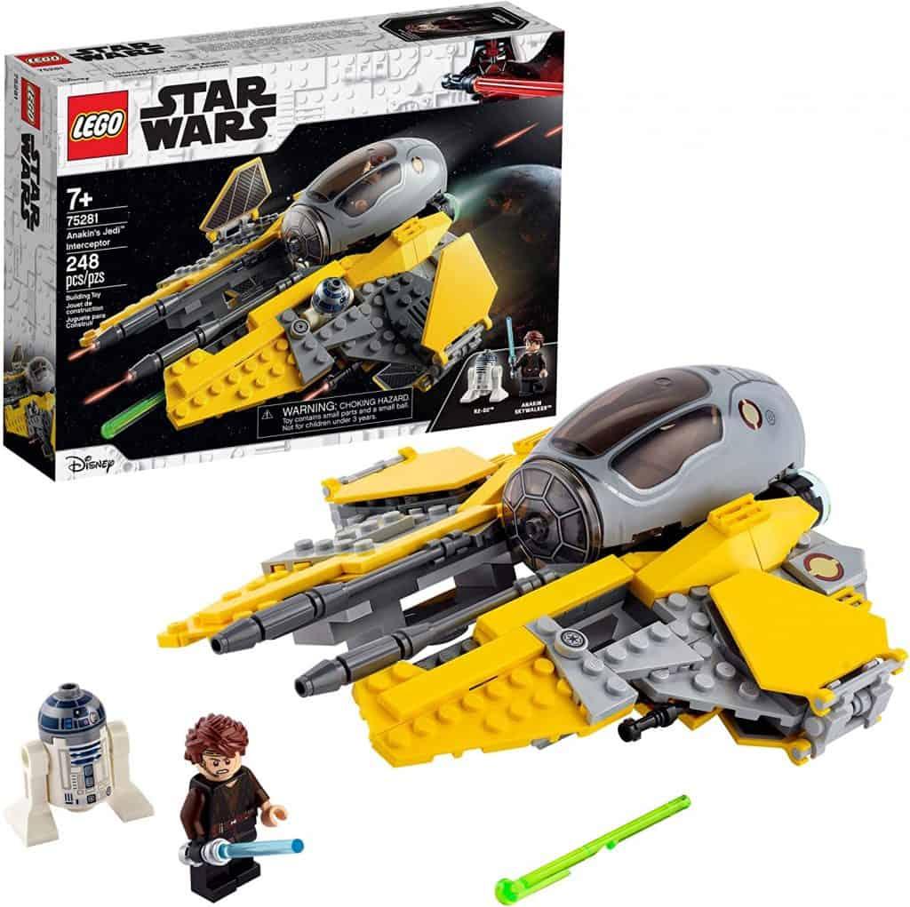 LEGO Star Wars Anakin's Jedi Interceptor 75281 Building Toy