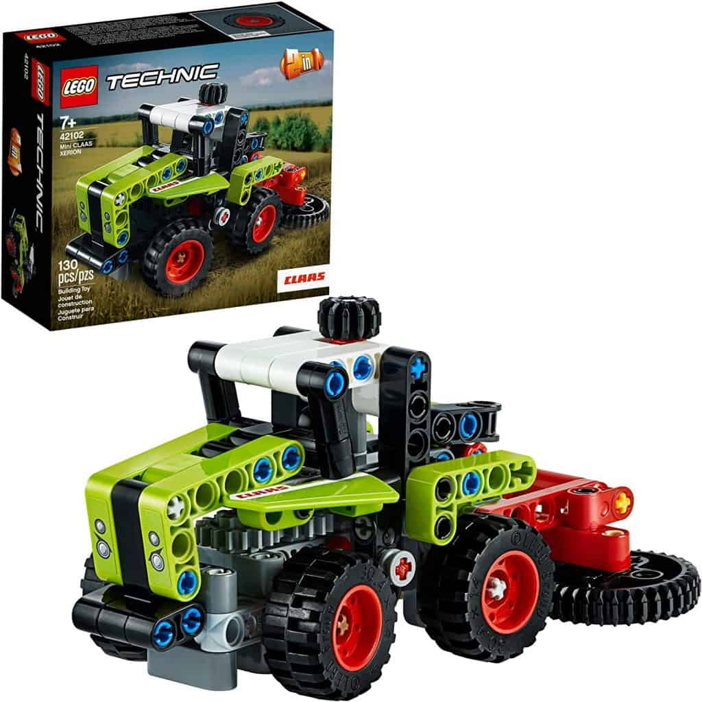 LEGO Technic Mini CLAAS XERION 42102 Toy Tractor Building Kit