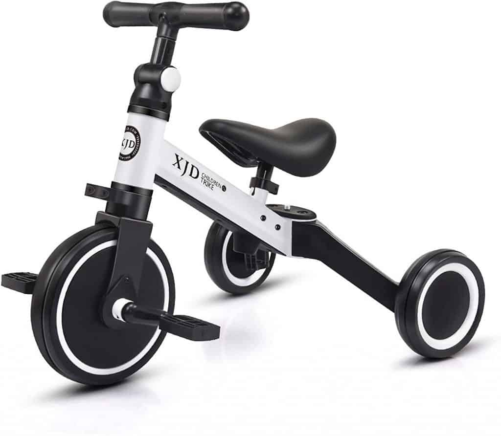 Best tricycles for 1-year-olds: XJD 3 in 1 Kids Tricycle