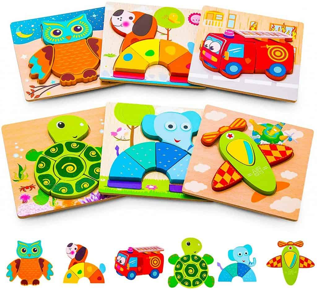 Best Puzzles for 2-Year-Olds: Ayeboovi Puzzles for Kids