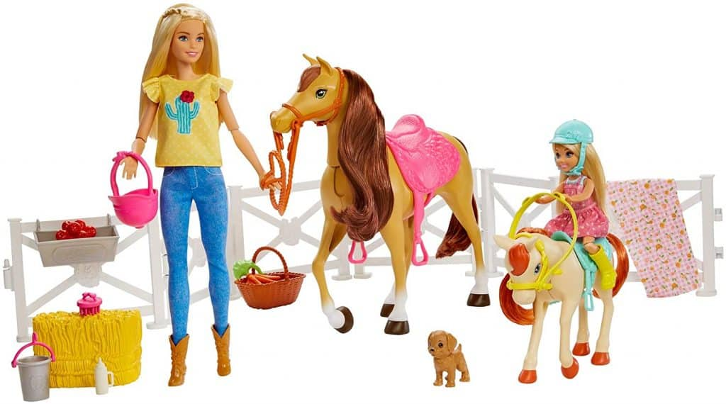 Barbie Hugs 'n Horses Playset