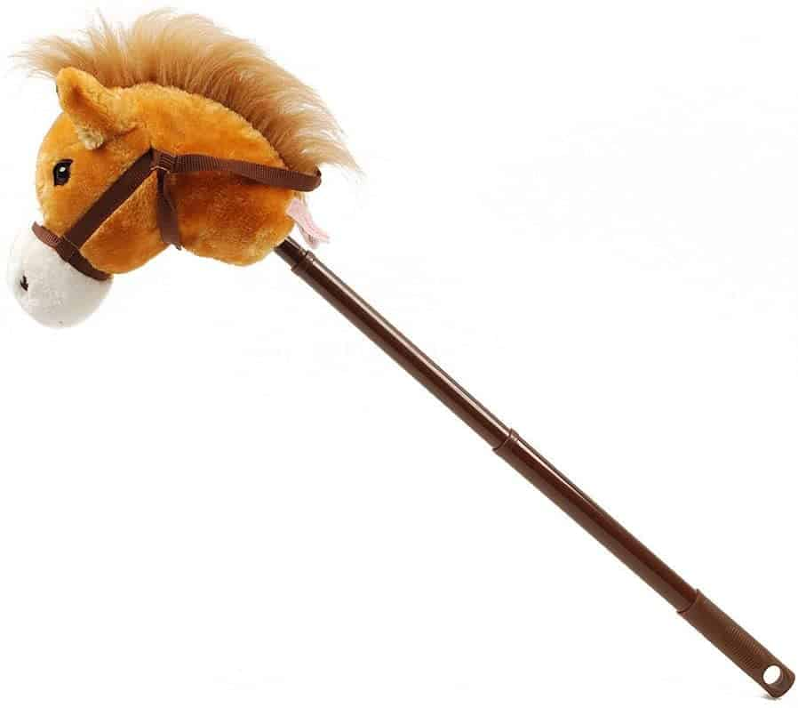 Linzy Hobby Horse, Galloping Sounds with Adjustable Telescopic Stick